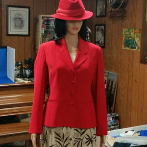 Charter Club Red Blazer Size 6P